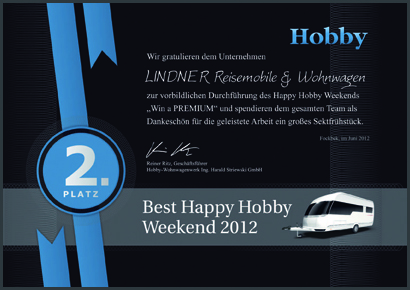 2012 - Best Happy Hobby Weekend