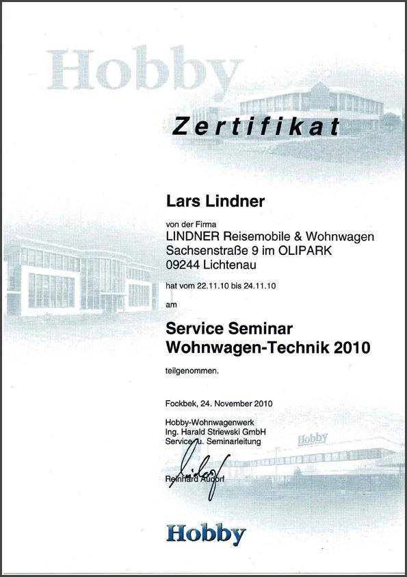 2010 - Wohnwagen-Technik